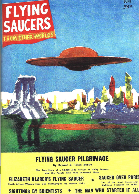 RG Cameron Clubhouse April 29 - 2016 Illo #4 'FLYING SAUCERS'
