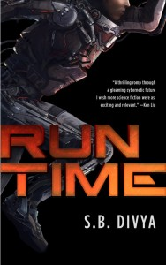 Run Time SB Divya cover art by Juan Pa Roldan