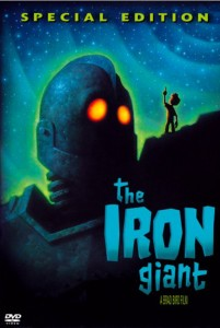 The Iron Giant DVD cover
