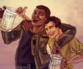 Asni's Art Blog: Star Wars Popularity Contest: Finn and Poe