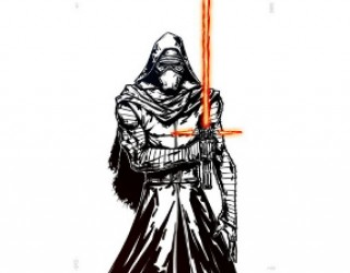 Asni's Art Blog: Star Wars Popularity Contest: Kylo Ren