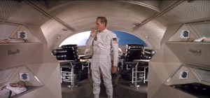 Space travel, 1972 style: Charlton Heston in Planet of the Apes