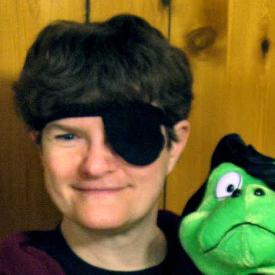 Figure 1 - Debbie With BJ Frog