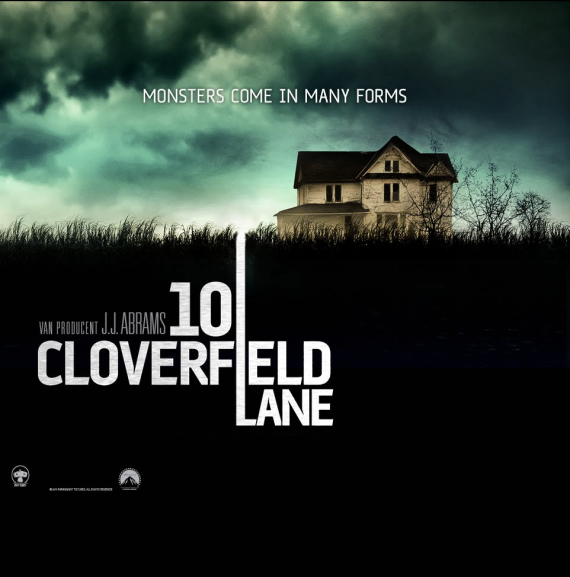 Figure 2- 10 Cloverfield Lane poster