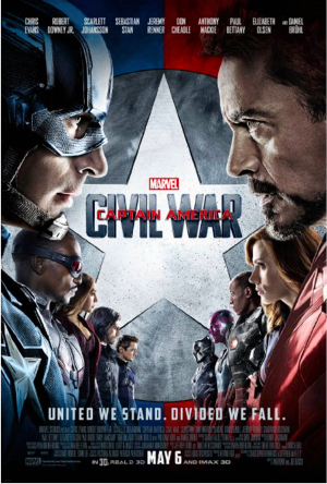 Figure 6 - Captain America Civil War Poster