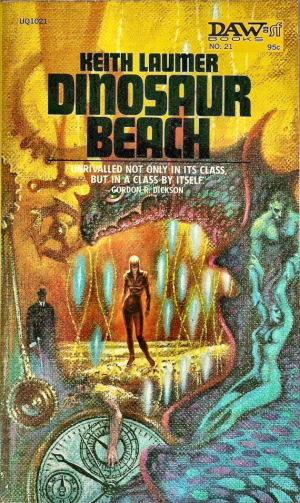 Figure 8 - Keith Laumer's Dinosaur Beach cover by Kelly Freas RIGHT