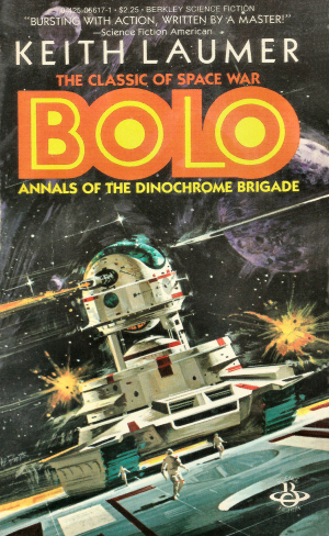 Figure 9 - Keith Laumer's Bolo cover by Vincent di Fate RIGHT