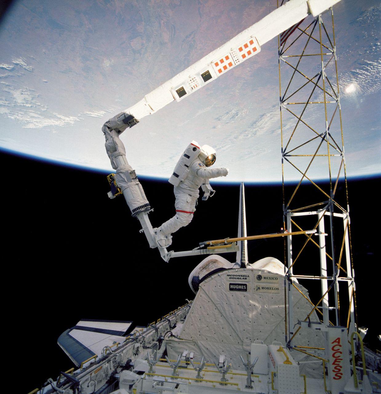 Space Shuttle EVA