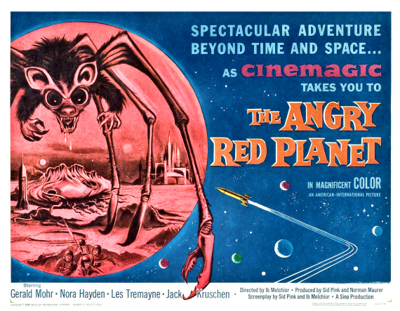 Figure 2 - Angry Red Planet Poster