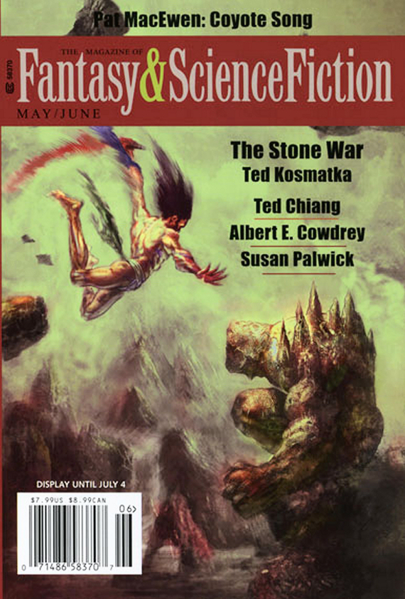 Figure 2 - May-June Cover for F&SF by Max Bertolini