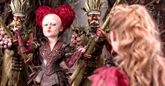 Figure 3 - Red Queen, Alice and Arcimboldo guardsmen