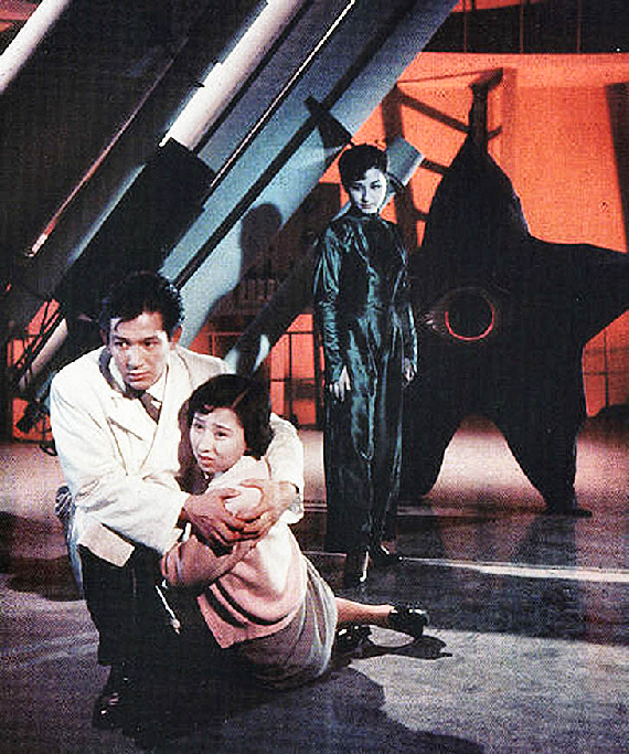 Figure 4 - Scientists and fake Hikari Aozara CENTER