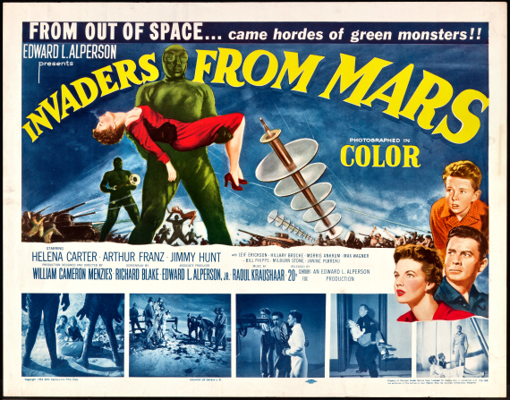 Figure 5 - Invaders from Mars poster