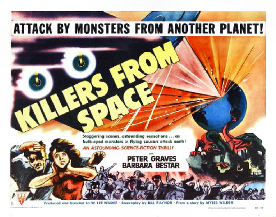 Figure 5 - Killers From Space Poster CENTER