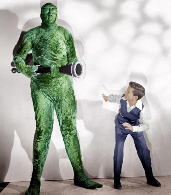 Figure 8 - Mutant with David