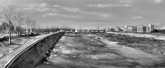Figure 8 - The Thames runs dry