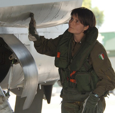Samantha_Air Force jet