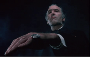 Christopher Lee makes a haughty Dracula