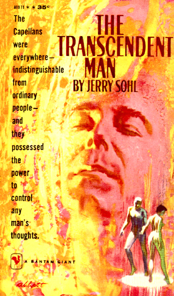 Figure 2 - The Transcendent Man cover by Abbott