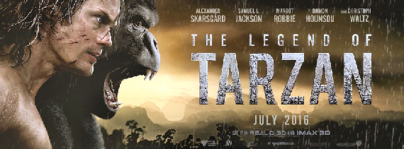 Figure 4 - The Legend of Tarzan poster