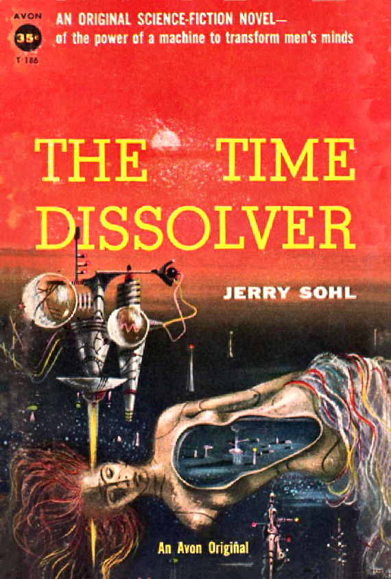 Figure 6 - The Time Dissolver cover by Powers