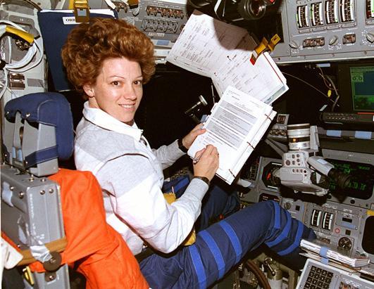 STS Astronaut Eileen Collins