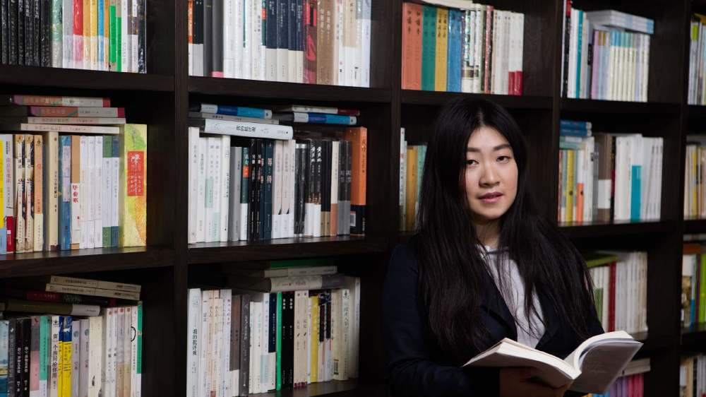 Wu Yue, writer, current president of the SF Association of Shanghai Jiao Tong University