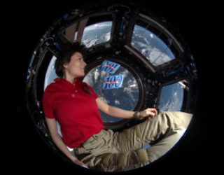 Italian Astronaut Captain Samantha Cristoforetti