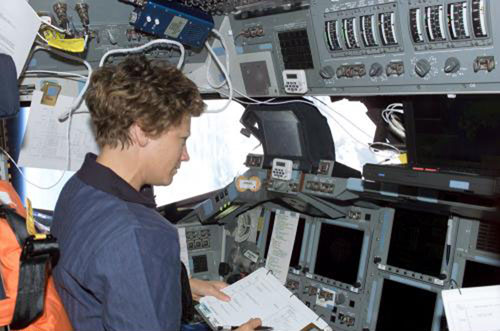 Eileen Collins commander position STS-114