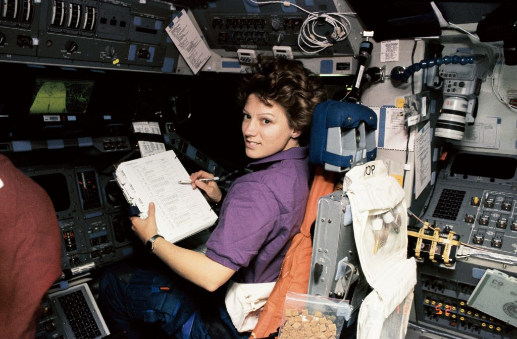Eileen Collins Shuttle Pilot Position STS-63