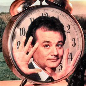 Figure 1 - Bill Murray in Groundhog Day