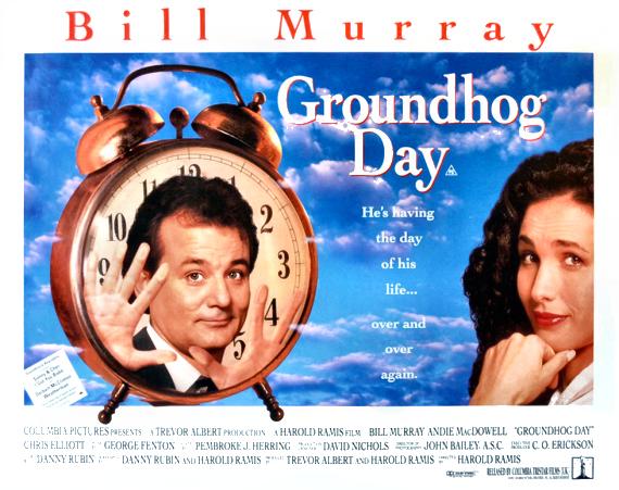 Figure 2 - Groundhog Day poster