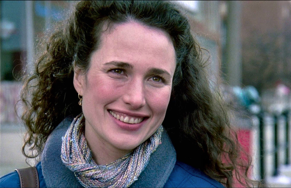 Figure 4 - Andie MacDowell as Rita