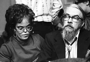 Judy Lynn and Lester Del Rey at Minicon 8 (1974)By Dd-b at the English language Wikipedia, CC BY-SA 3.0, https://commons.wikimedia.org/w/index.php?curid=6557180