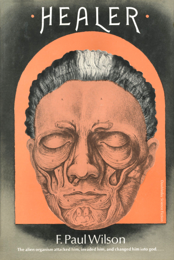 Figure 2 - Healer original Doubleday Cover