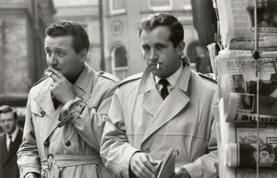 Figure 2 - Patrick Macnee and Ian Hendry