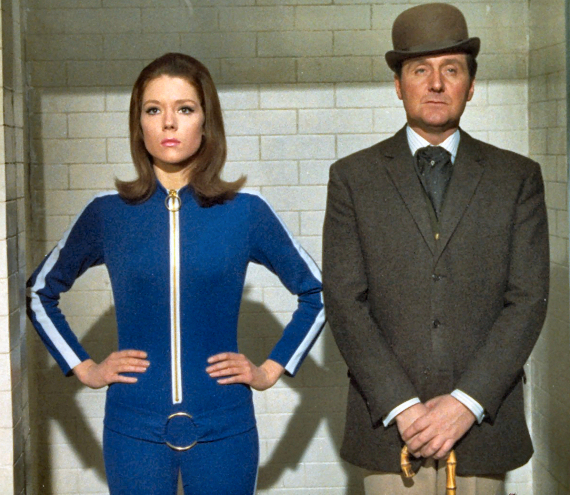 Figure 4 - Mrs. Peel and John Steed
