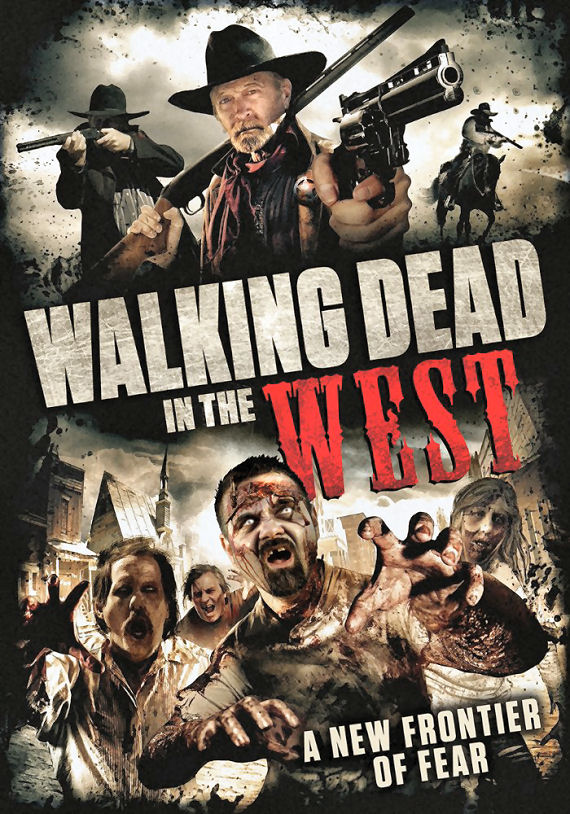 Figure 2 - Walking Dead in the West Poster