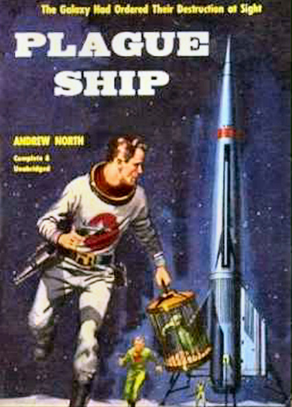 Figure 3 - Plague Ship ACE cover by Ed Valigursky