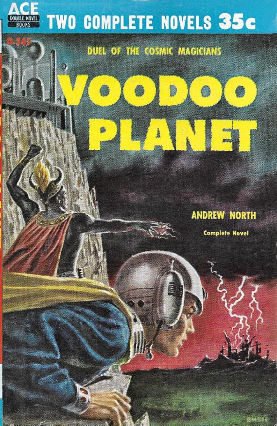 Figure 4 - Voodoo Planet cover by Ed Emshwiller
