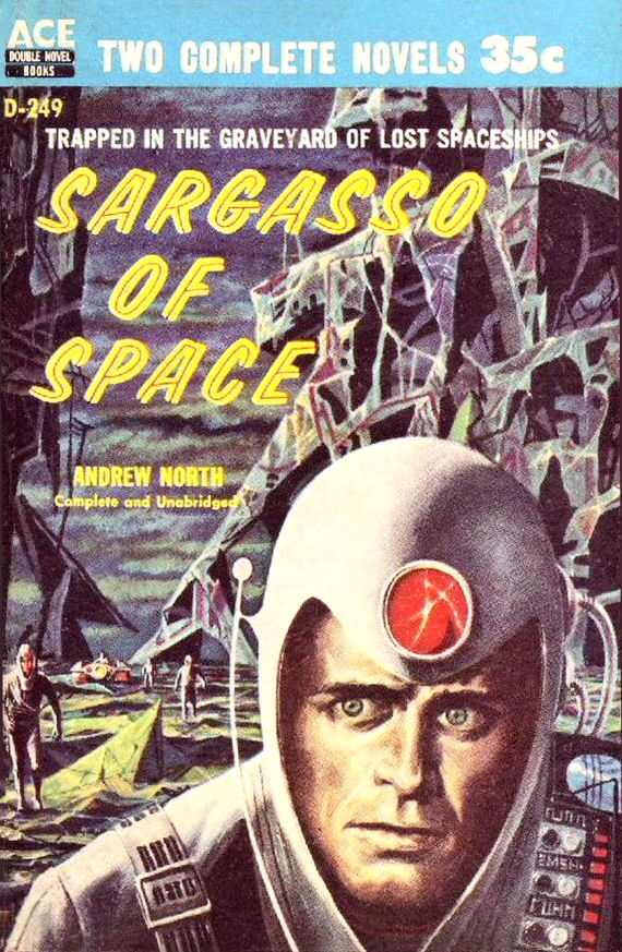 Figure 5 - Sargasso of Space cover by Emshwiller