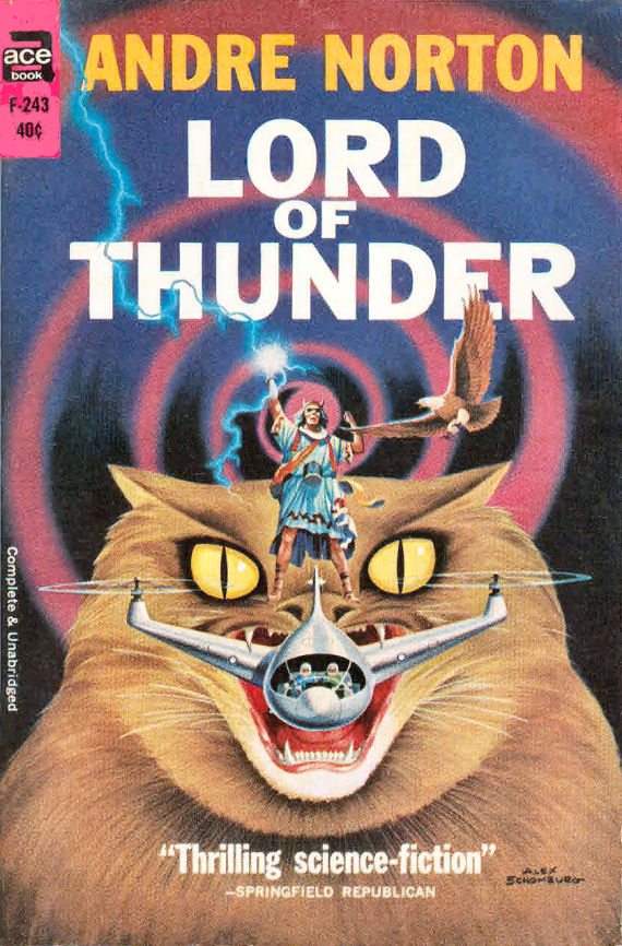 . Figure 6 - Lord of Thunder Ace cover by Schomburg