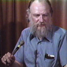 Figure 1 - Ed Emshwiller in Video Interview