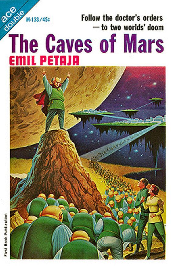 Figure 10 - M-133 - Caves of Mars - Emil Petaja by Alex Schomburg