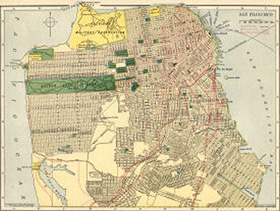 Figure 2 - San Francisco circa 1910