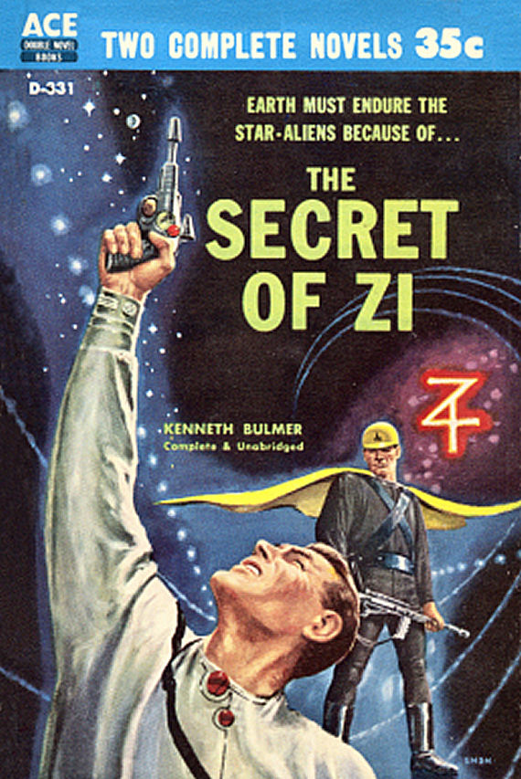 Figure 3 - D-331 - The Secret of Zi - Kenneth Bulmer by EMSH