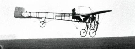 Figure 3 - Harriet Quimby Flying her Bleriot