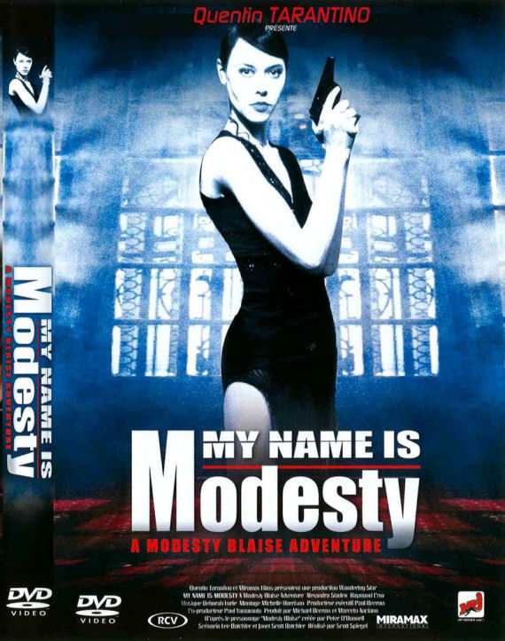 Figure 7 - My Name Is Modesty DVD Cover