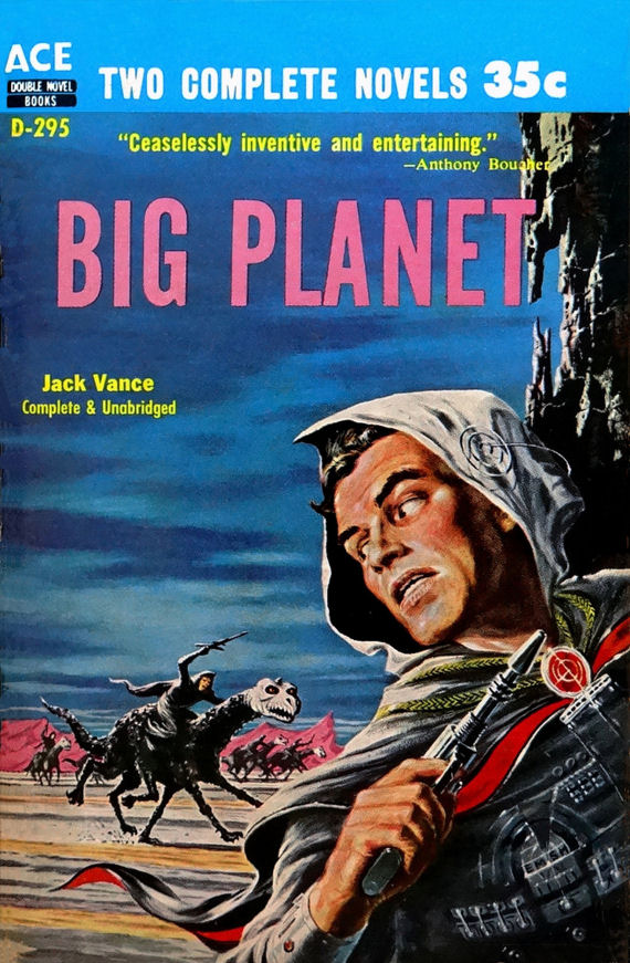 Figure 4 - Ace D-295 Big Planet by Jack Vance (EMSH cover)