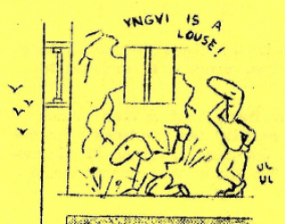 "The Clubhouse; Fanzine Reviews: ""When fandom was happier …"""